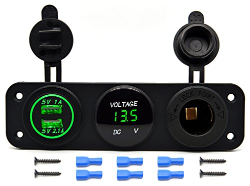 Cllena Function Charger Voltmeter Digital product image