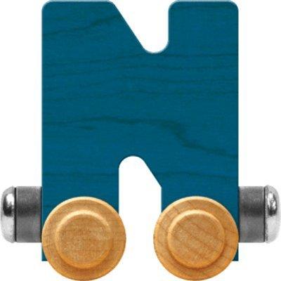 NameTrain Bright Letter Car N - Made in USA (Blue)