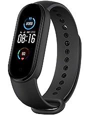 Xiaomi Mi Smart Band 5 (2020) visualización de color AMOLED, IP68 impermeable pulsera BT 5.0 Fitness, sueño, frecuencia cardíaca 24/7, deportes, natación, seguimiento de la salud (modelo global)