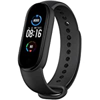 "Xiaomi Mi Smart Band 5 (2020) 1.1"" AMOLED Color Screen, IP68 Waterproof Wristband BT 5.0 Fitness, Sleep, 24/7 Heart Rate…"