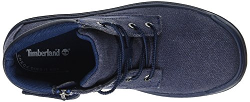 Timberland Unisex-Kinder Ramble Wild Canvas Lacenavy Canvas Chukka Boots, Blau  (NAVY Canvas), 39 EU