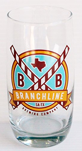 Branchline Brewing Company 14oz Promotional Beer Glass