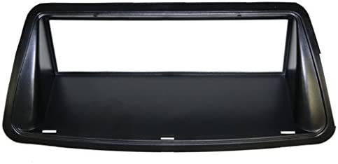 AERZETIX: Marco adaptador 1DIN cubierta plástica moldeado para el cambio de autoradio original con un radio estándar del coche vehículos automóvil: Amazon.es: Electrónica