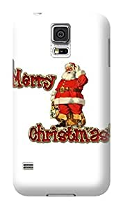 Merry Christmas New fashionable TPU Hot Sale Plastic Samsung Galaxy Case Cover for s5