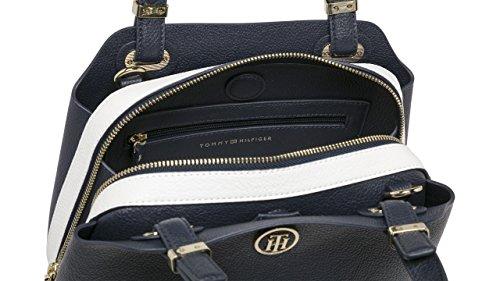 Aw0aw05123 Blu Bag Donna Tommy Hilfiger Iwnq8TXAn0