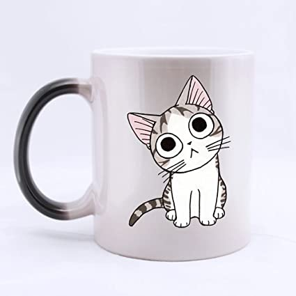 Amazon.com: Japanese Cartoon Chis Sweet Home Cute Kitten Customized Design Morphing Mug Coffee Mug Creative Milk Mug Personalized Tea Cup 11OZ: Kitchen & ...