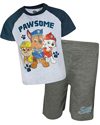 Set French Short Terry - Nickelodeon Paw Patrol Boys French Terry 2 Piece Short Set (Toddler/Little Boys) (Pawsome, 7)'