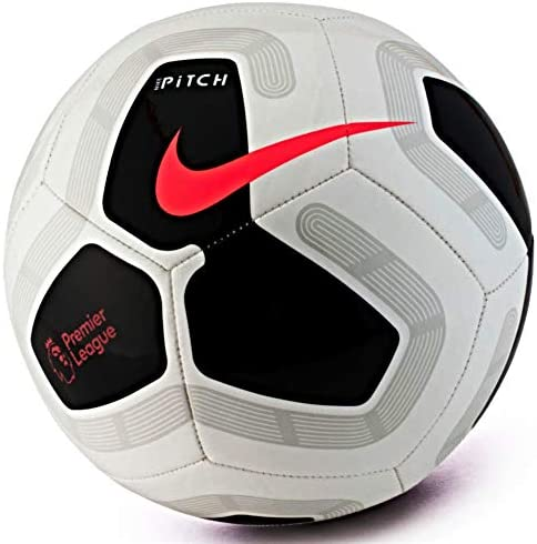Nike Pitch Premier League 2019-2020 - Balón de fútbol, color blanco y negro, talla 5: Amazon.es: Deportes y aire libre