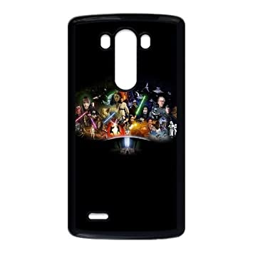 Star Wars Cast LG G3 Cell Phone Case Black phone component ...