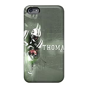 Apple Iphone 6 Plus LqT941kyoZ Customized Attractive New York Jets Pattern Shock Absorption Cell-phone Hard Covers -favorcase