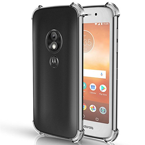 Moto E5 Cruise Case, Moto E5 Play Case, OEAGO [Ultra Slim Thin] with Soft Feel Flexible and Easy Grip Gel Premium TPU Rubber Silicone Skin Cover for Motorola Moto E5 Cruise/Moto E5 Play Phone, Clear