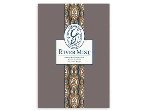 Greenleaf Large Sachet, River Mist, 18 Packs by Greenleaf Gifts