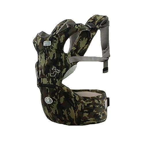 360° Ergonomic Baby Carrier for Newborn with Hip Seat, used for sale  Delivered anywhere in USA