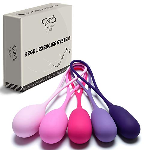 Kegel Balls System for Women - Ben Wa Balls - Weighted Balls - Kegel Exerciser Weight Kit - Kegel Balls Weighted Exercise Set - Weight Training Balls