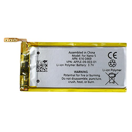 Fenzer Replacement Rechargeable Battery for Apple iPod Nano 5th 5 Gen Generation