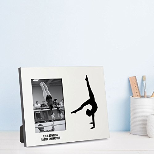 Amazon.com - ChalkTalkSPORTS Personalized Gymnastics Photo ...