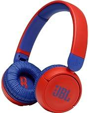 JBL JBLJR310BTRED Kids Wireless On-Ear Headphones, Red