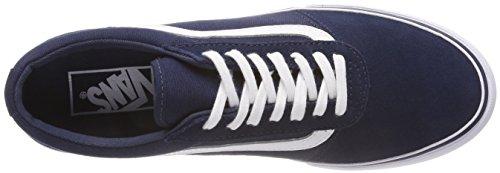 Maddie Pour Navy suede Baskets Vans R71 canvas Homme Va3il2r71 Bleu 1HRUF