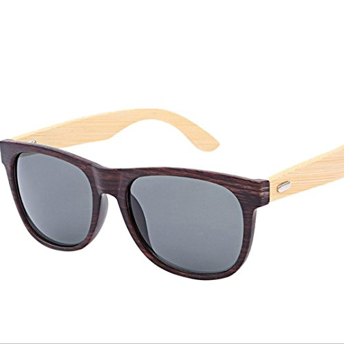 Forthery Sunglass, Fashion Polarized Lens Glasses Unisex Retro Classic Trendy Stylish Sunglasses (C) (Original Clubmaster)