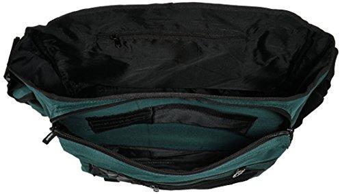Travelite Bolso Bandolera, 25 Litros, 41 cm, Negro Grn