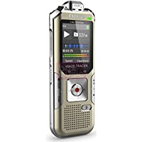 Philips DVT6500 Voice Tracer w/ 3Mic Recording (Champagne/Silver shadow)