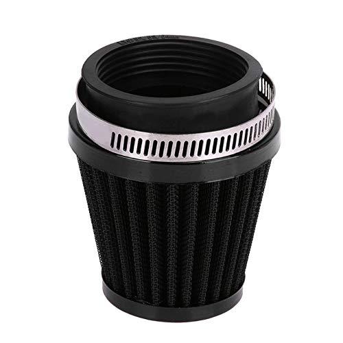 VistorHies - 60mm Universal Motorcycle Air Intake Filter Motocross Air Pods Motorbike air Cleaner Steel Net mushroom Filter pod system Spiral