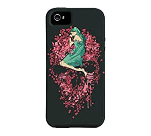 Bed of roses iPhone 5/5s Dark jungle green Tough Phone Case - Design By Humans