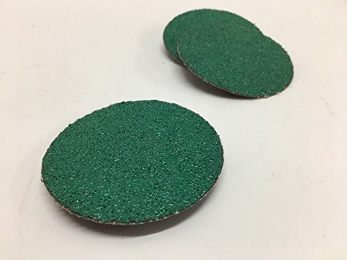 3M Green Corps Grinding Disc (33 Each) Roloc Attachment, Green, Round