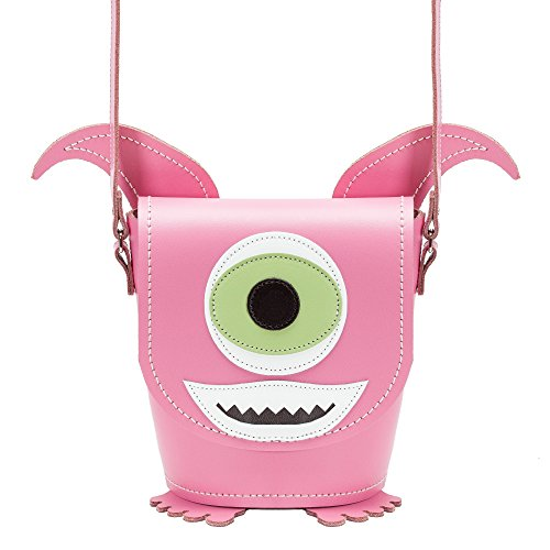 Zatchels Little Horrors - Borsa a Secchiello in Pelle - Donna Rosa