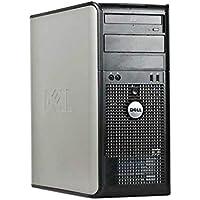 Dell 380 Mini Torre - MT, Intel Core 2 Duo E8600 3.33 GHz, 4 GB DDR3, 250 GB, Windows 7 Pro, Negro - Plata Reacondicionado (Certified Refurbished)