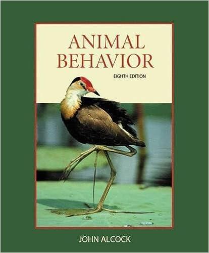 ANIMAL BEHAVIOR ALCOCK 8TH EBOOK
