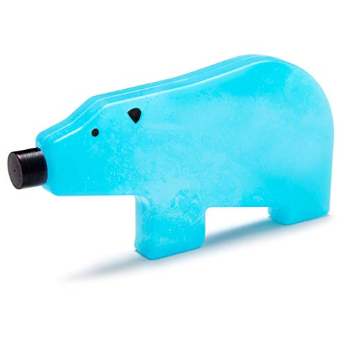 Blue Bear Ice Pack For Lunch Box - Reusable Ice Pack For Personal Cooler, Perfect Bento Box Accessories, Mama Bear, 7