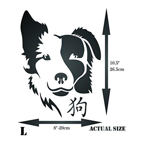 Templates Stencils Patterns Dog Stencil 8 X 105 Inch L