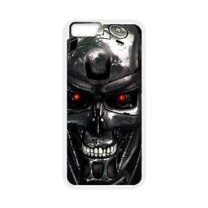 Terminator Movie71 iPhone 6 Plus 5.5 Inch Cell Phone Case White TPU Phone Case SV_083041
