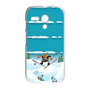 Motorola G Cell Phone Case White_Winter Sports Plants Vs Zombies TR2482335