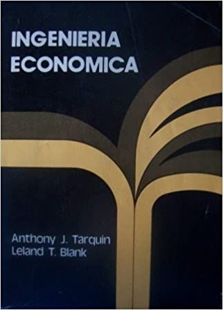 Engineering Economy By Leland Blank And Anthony Tarquin Pdf