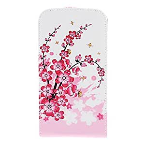 GHK - Plum Blossom Pattern PU Leather Full Body Case for Samsung Galaxy S3 I9300