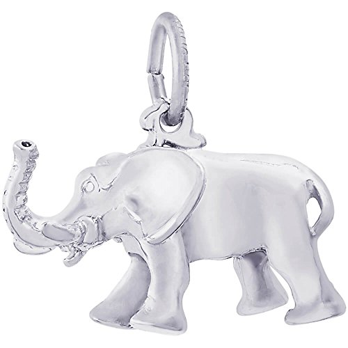 Rembrandt Elephant Charm (Rembrandt Charms Elephant Charm, Sterling Silver)
