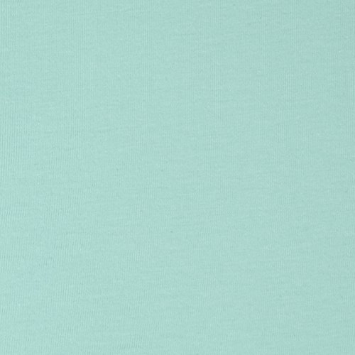 Art Gallery Solid Jersey Knit Icy Mint Fabric By The Yard