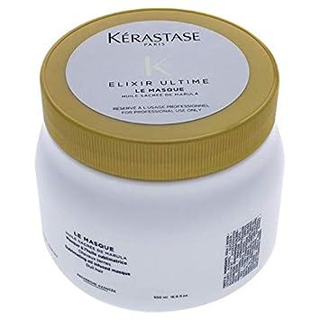 6fa6d8403e12 Amazon.com : Kerastase Elixir Ultime Le Masque for Unisex, 16.9 Ounce :  Beauty