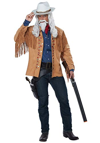 California Costumes Men's Wild West Showman-Buffalo Bill-Adult Costume, Tan, Large/Extra Large]()
