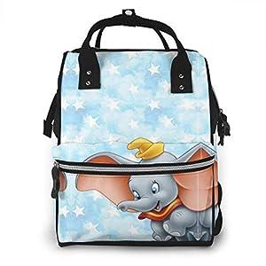 NHJYU Diaper Bag Backpack – Flying Dumbo Multifunction Waterproof Travel Backpack Maternity Baby Nappy Changing Bags