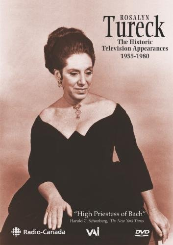 Rosalyn Tureck - The Historic Television Appearances 1955-1980