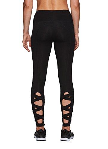 RBX Active Women's Workout Yoga Strappy Back Legging Black XL