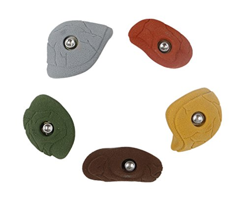 5 Edges | Climbing Holds | Mixed Earth Tones by Atomik Climbing Holds