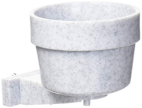 (Lixit Corporation 30-0768-024 Lixit Crock for Feeding Pets, 10-Ounce, Granite)