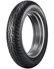 Dunlop D404 Front All Season Radial Tire-130/90-16 67H