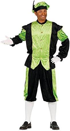 Disfraz de Paje Verde y Negro para hombre: Amazon.es: Juguetes y ...