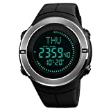 Digital Sports Watch for Men Compass Watch Outdoor Sports Watch for Men Alarm Stopwatch Counterdown Waterproof