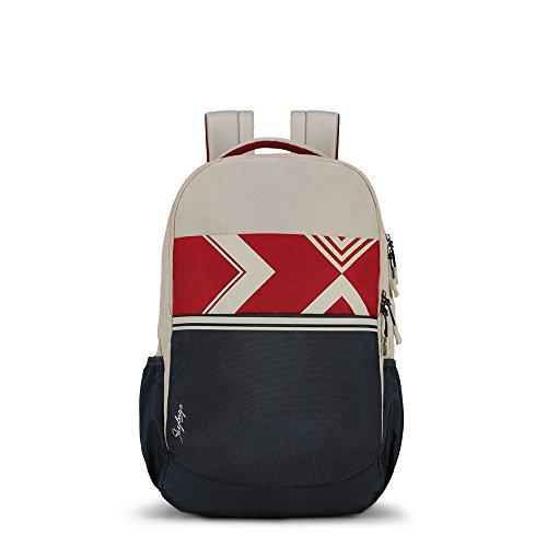 Skybags Komet 03 24 Ltrs Beige Laptop Backpack (Komet 03)